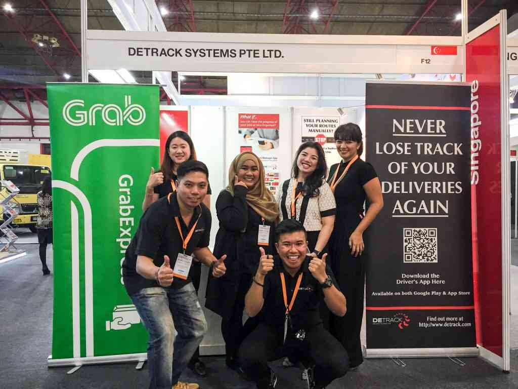 Proudly exhibiting with our welcoming partners in Indonesia, GrabExpress